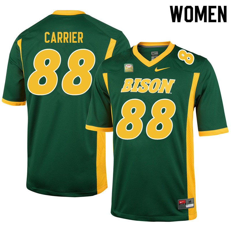 Women #88 Andre Carrier North Dakota State Bison College Football Jerseys Sale-Green